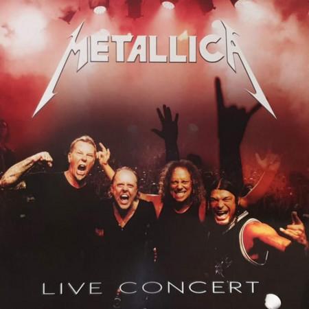 Vinilo Metallica - Live Concert