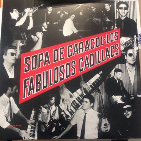 Vinilo Los Fabulosos Cadillacs - Sopa...