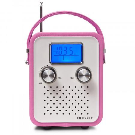 Radio Crosley - Portatil Rosada