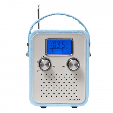 Radio Crosley - Portatil Turquesa