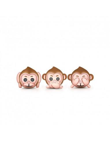 The 3 Wise Monkeys charm para pulseras