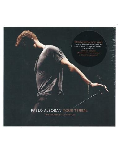 Cd Pablo Alboran - Tour Terral (Tres...