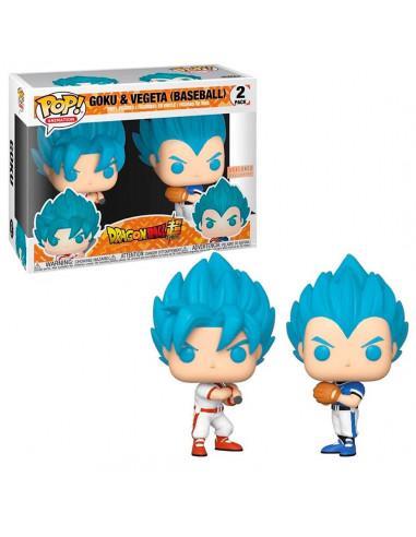 Funko Pop - Goku Y Vegeta Baseball -...