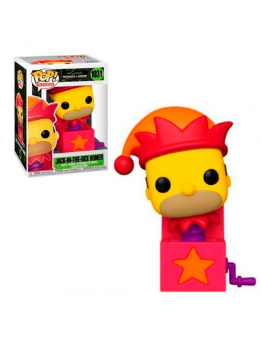 Funko Pop - Jack In The Box Homer -...